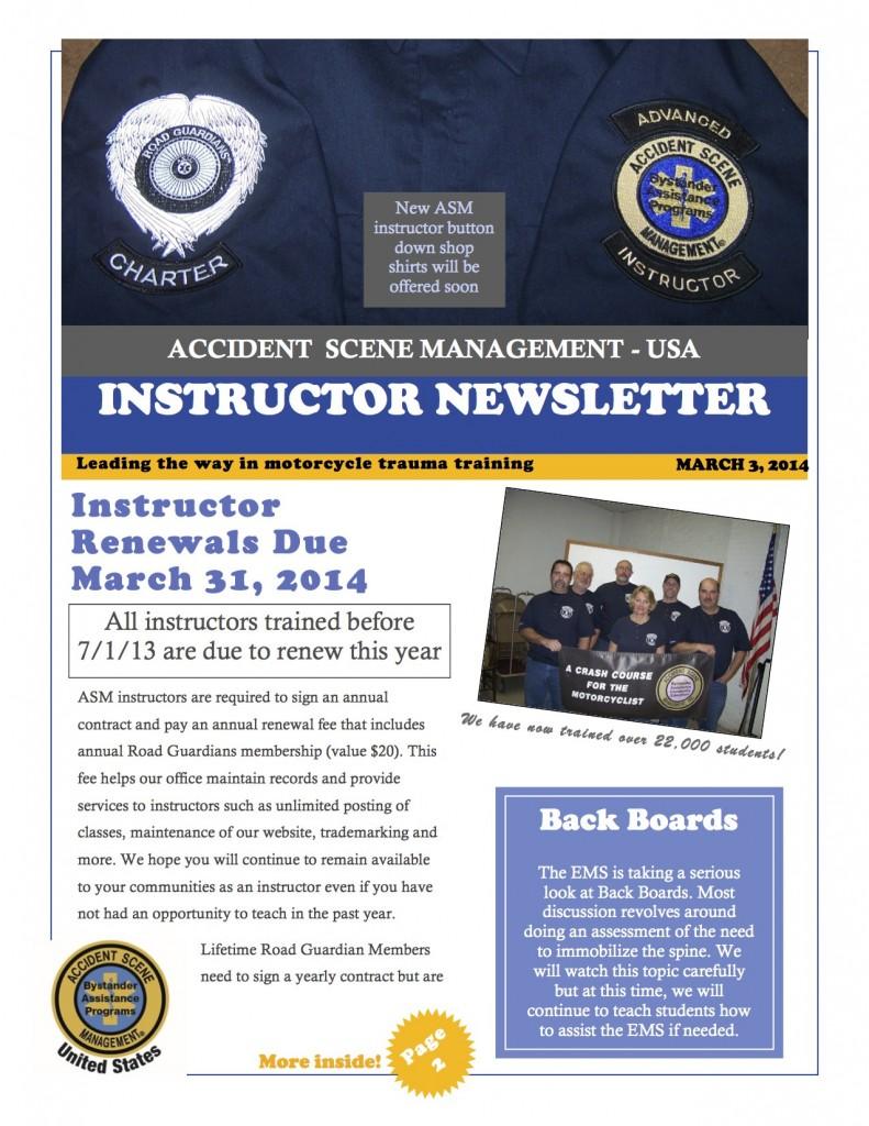 2014 - newsletter