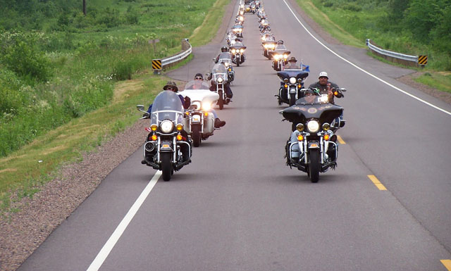 Group of Motorcycles