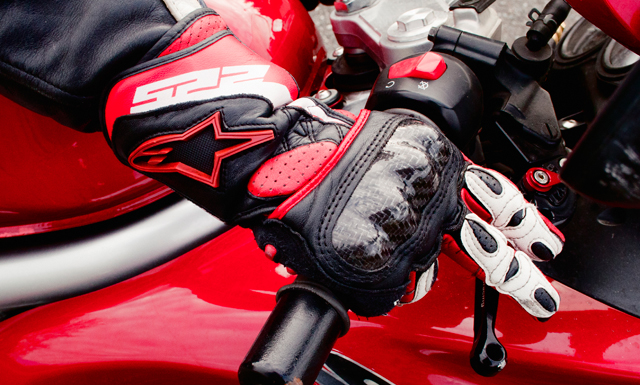 Motorcycle Hand Brake Position