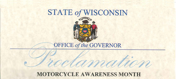 Wisconsin Motorcycle Awareness Month