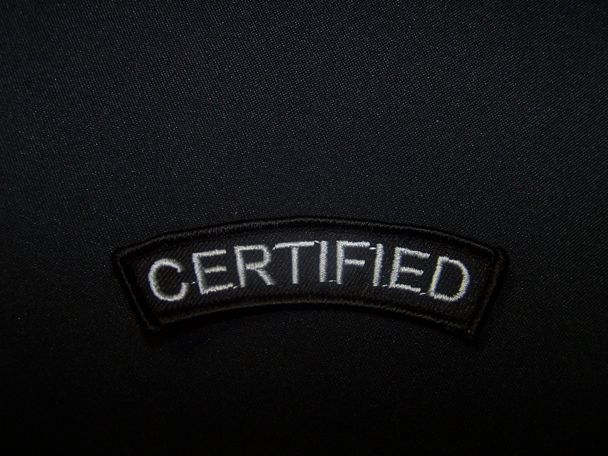 Certified badge
