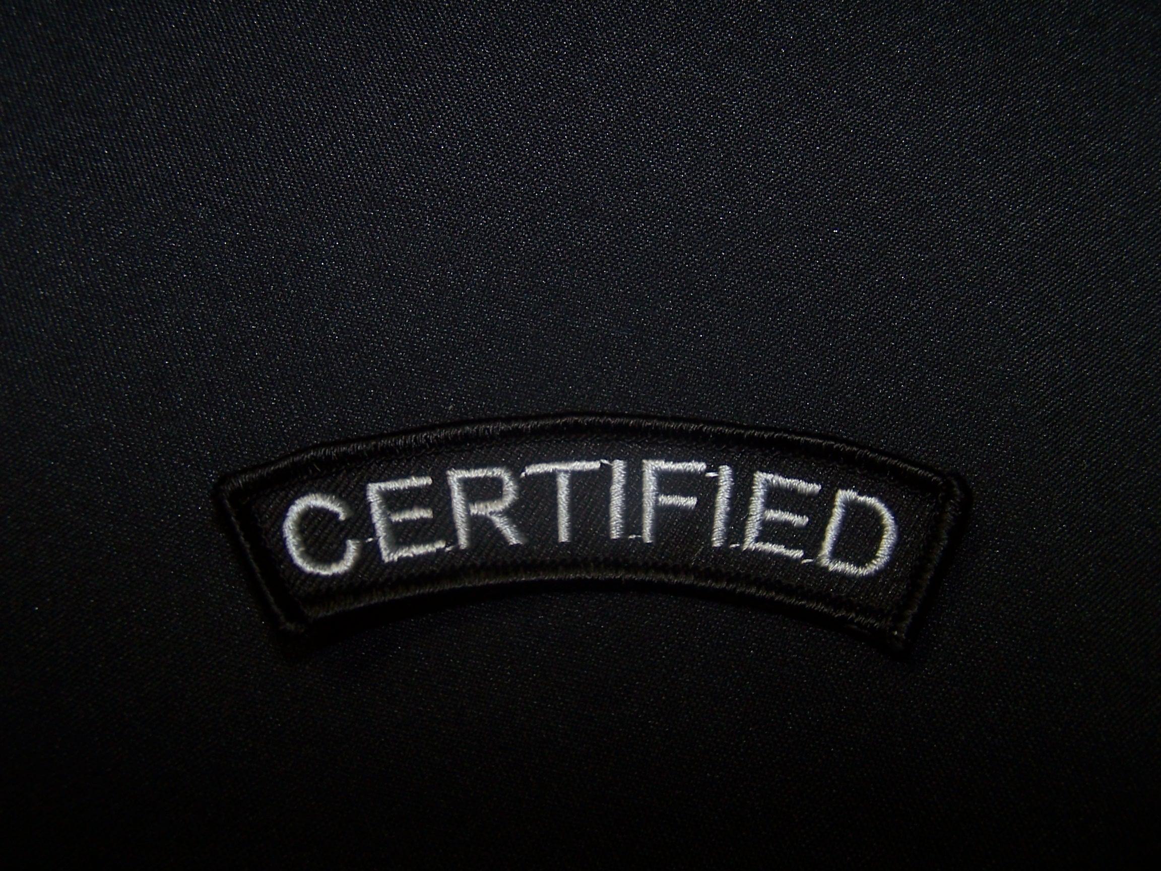 Certified badge