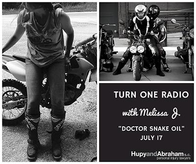 Turn one radio