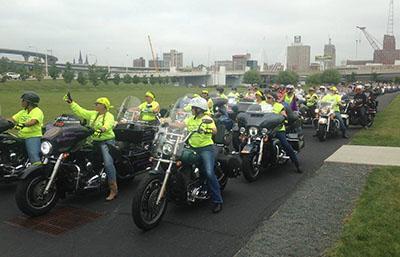 Women motorcycle