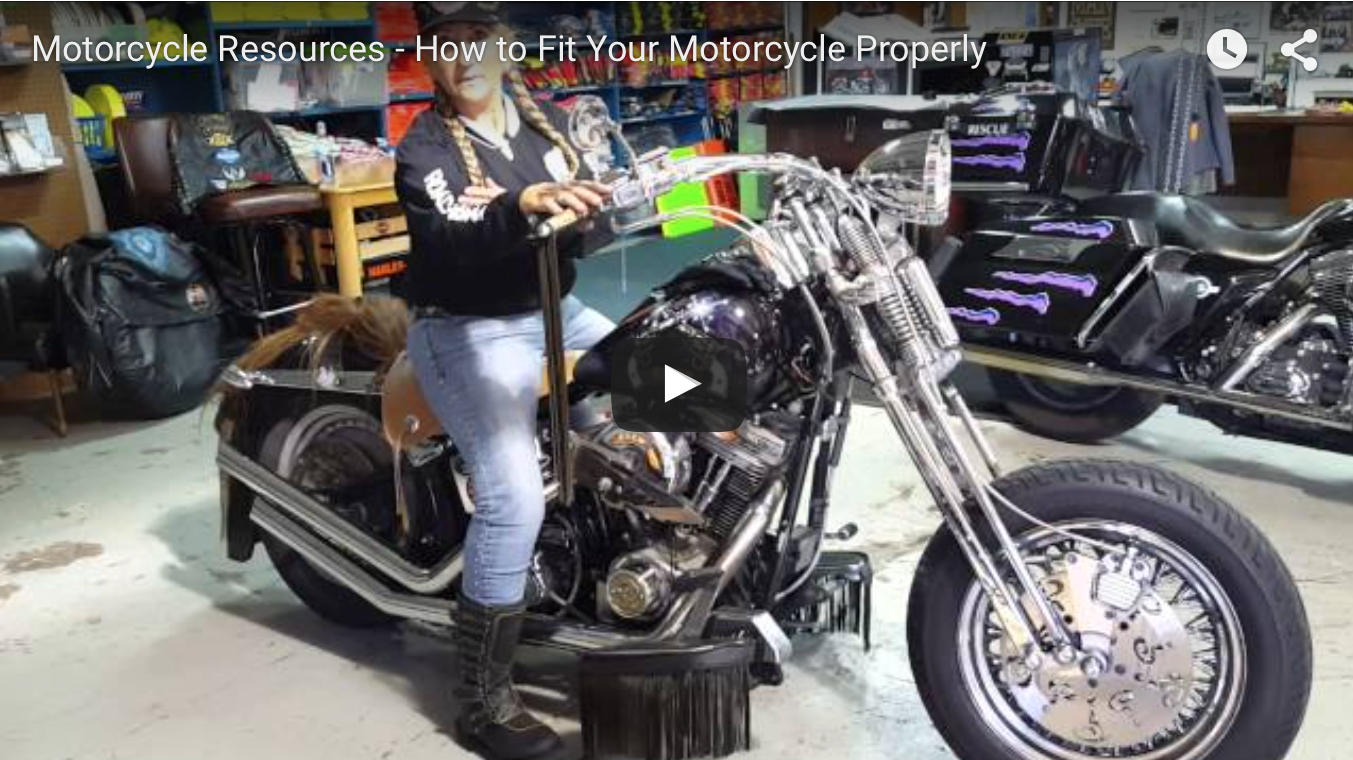 How to fit your motorcycle properly