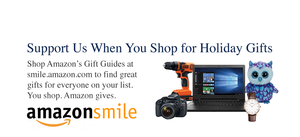 Amazon Smile shop for the holidays