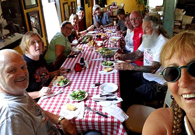 Group at River Road Fundraiser