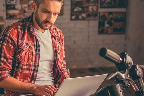 laptop bike