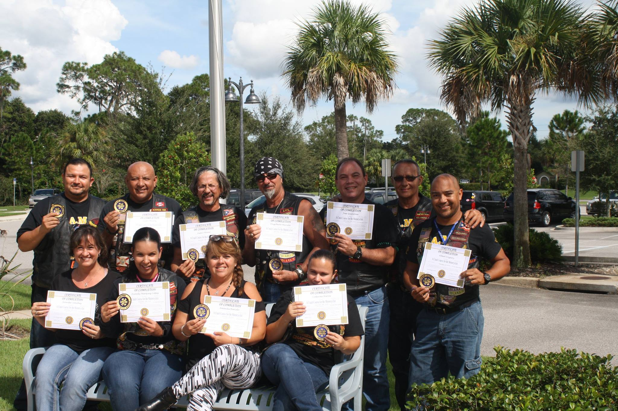 group training with certificates