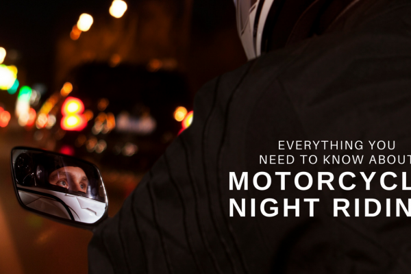 Motorcyle night riding