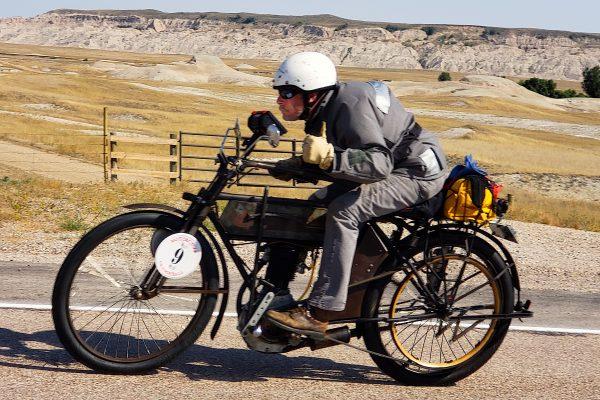 Man on motorcyle