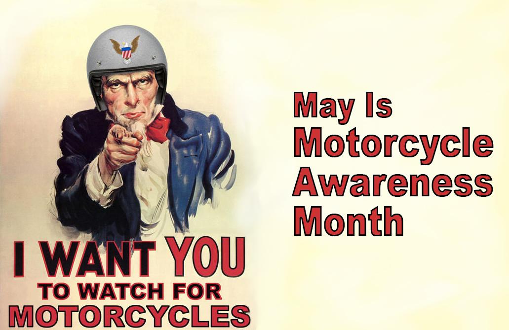 Motorcycle Awareness Month