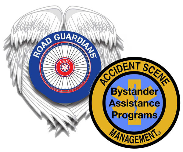 Road Guardians / Accident Scene Management Logo